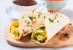 Avocado & Egg Breakfast Burrito
