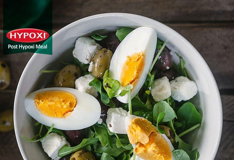 Egg, Feta & Olive Salad