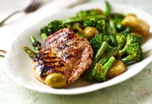 Grilled Turkey & Sautéed Vegetables