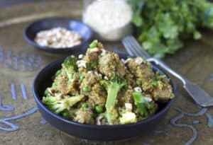 Indian Chicken Quinoa Pilaf