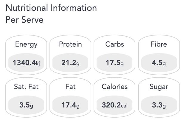 Nutrition Bomb: Radiance
